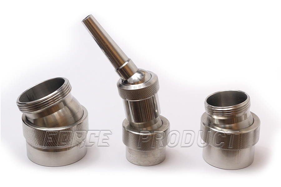 Ball Joint fountain nozzle