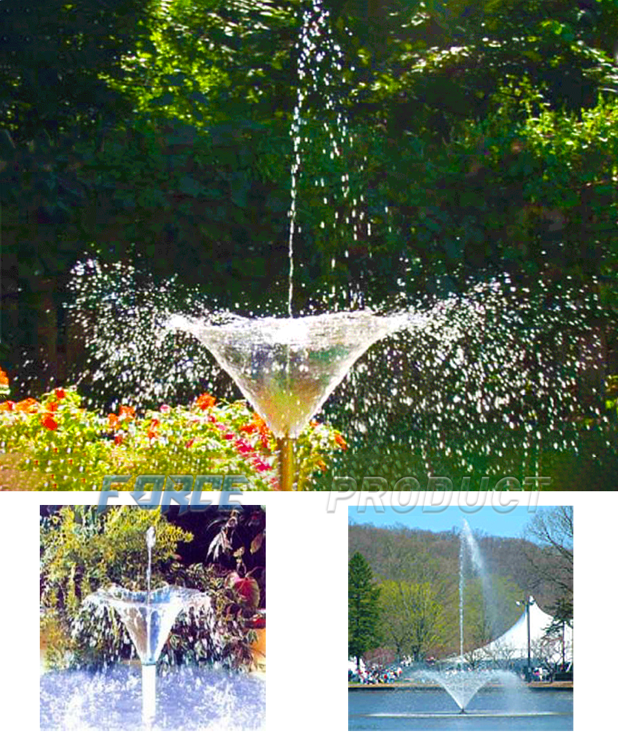 Morning Glory Fountain nozzle